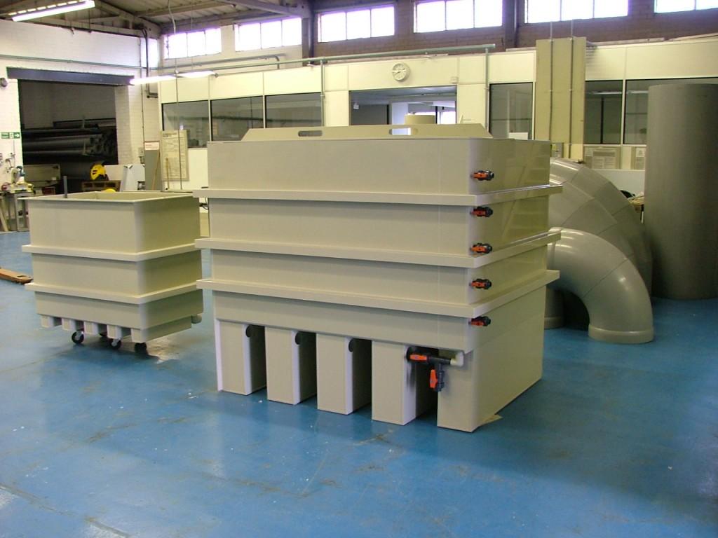 Beckox process tanks and vats