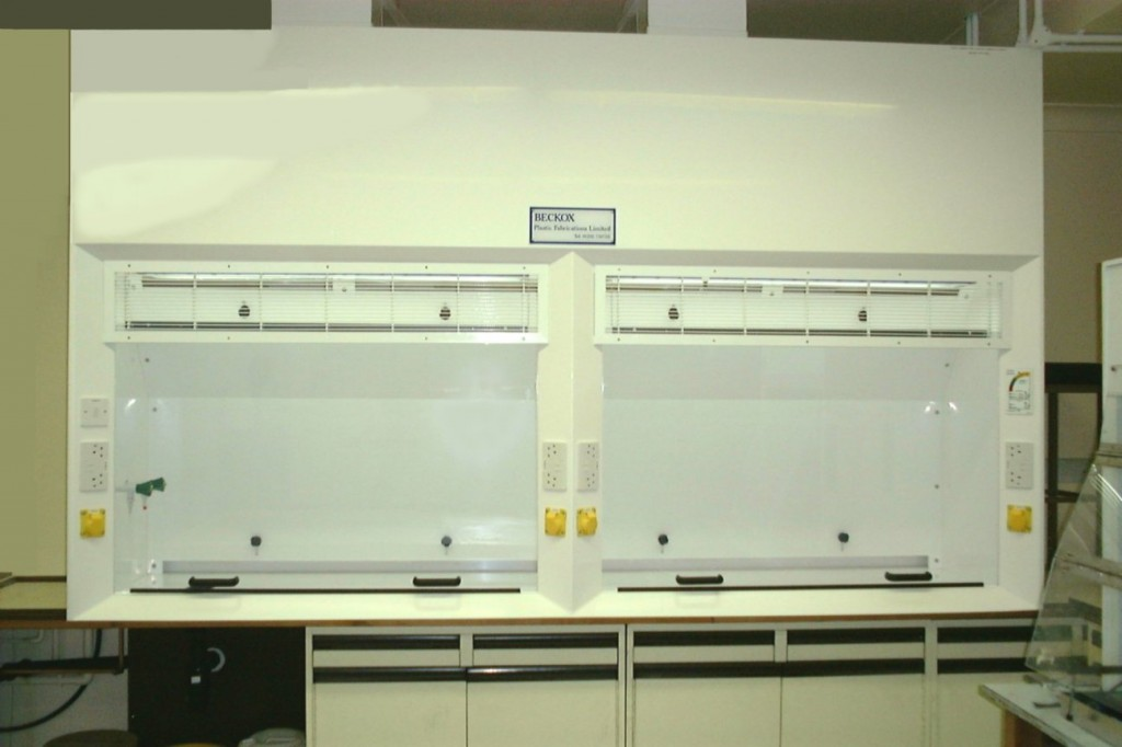 Beckox fume cupboards and wet benches