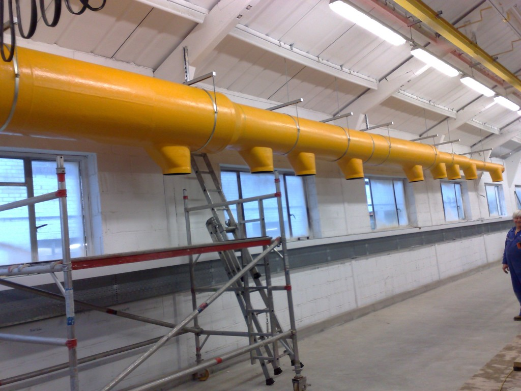 Beckox fume extraction and ducting systems