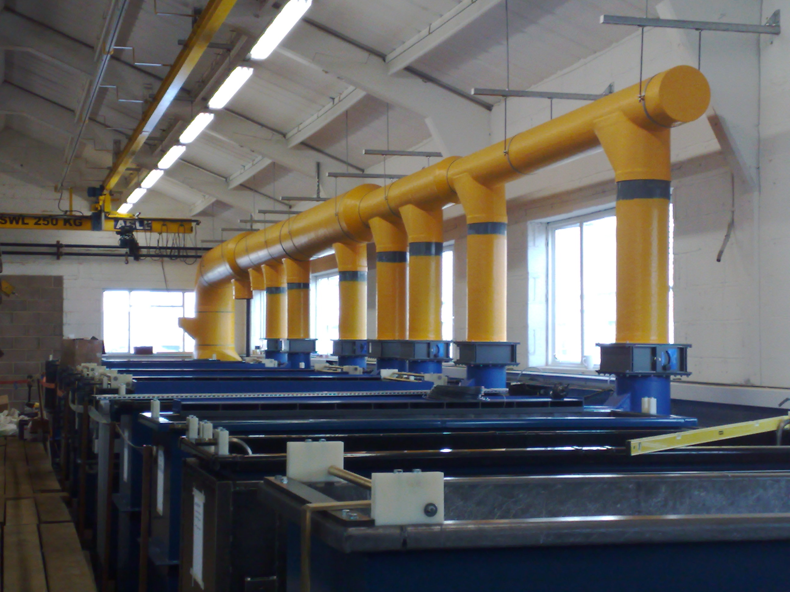 Fume Extraction And Ducting Systems Plastic Fabrication